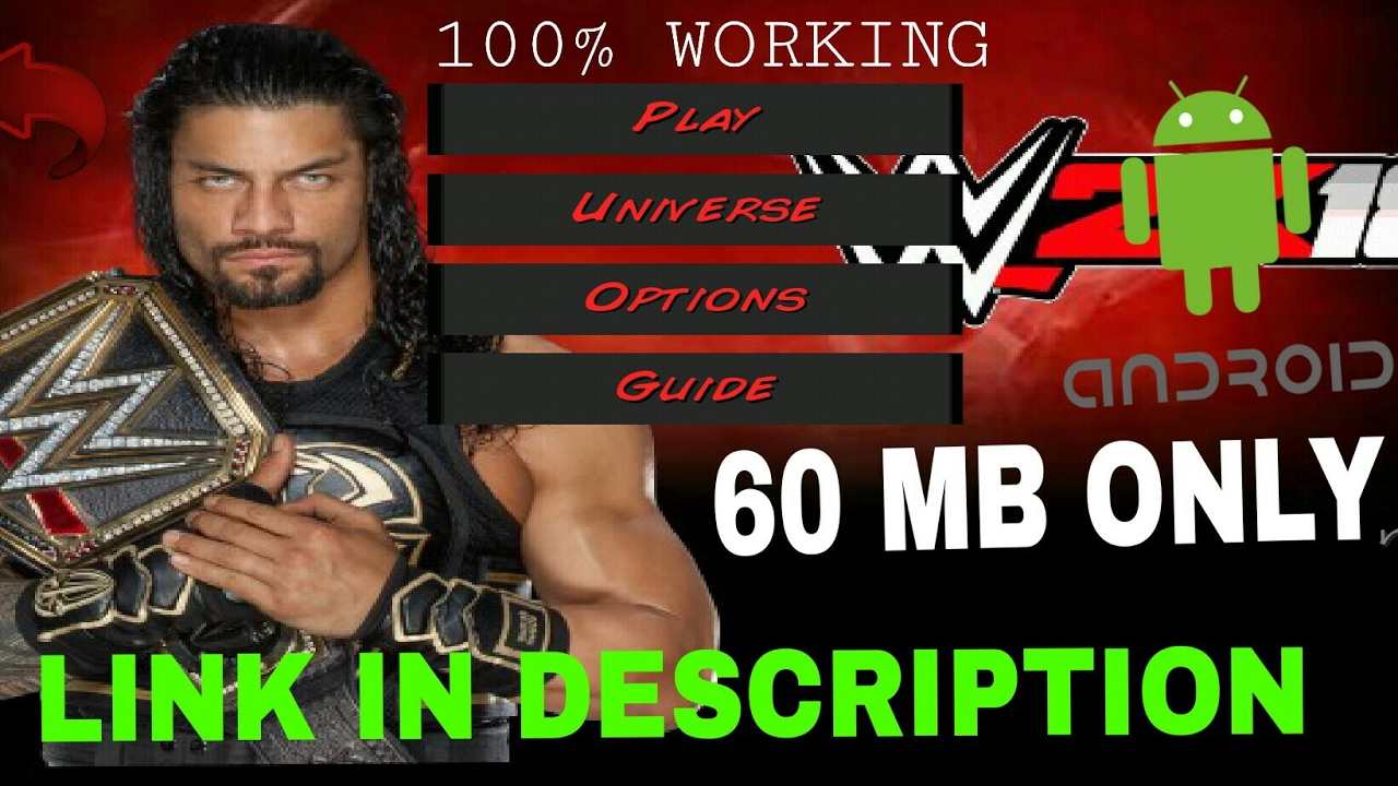 How To Download WWE 2K18 Mod In Wrestling Revolution 3d/WR3D Game Android  With Link by Games Hacker