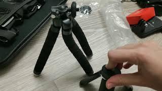 Розпакування 2 посилок |аксесуари для екшн камери SJCAM SJ8 PRO
