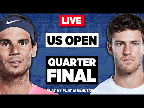 🔴 NADAL vs SCHWARTZMAN | US Open 2019 QF | LIVE Tennis Stream