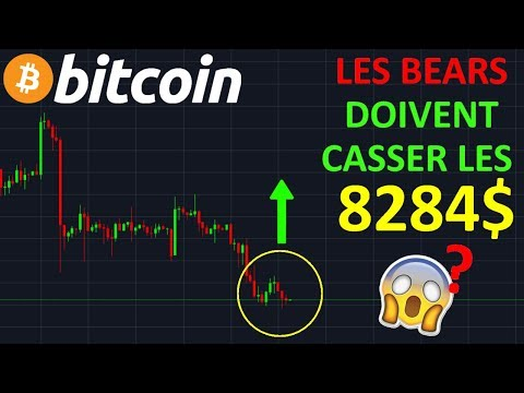 BITCOIN 8284$ GROS NIVEAU DE SUPPORT !? btc analyse technique crypto monnaie