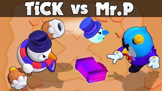 ❄️TICK vs Mr. P ❄️ 1vs1 ❄️ VENGANZA 😡