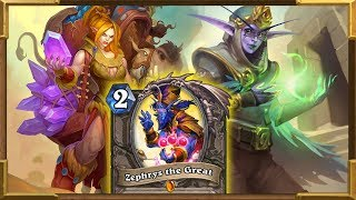Hearthstone: Highlander Quest Chef Nomi Zephrys Elise Druid | Saviros Of Uldum New Decks
