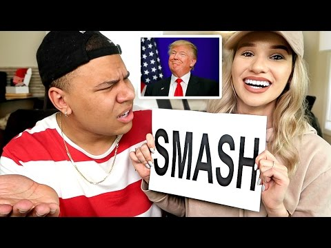 Thumbnail: SMASH OR PASS!? (CELEBRITY EDITION) *SHE DUMPS ME*