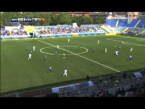 EMOZIONI AZZURRE - Novara-Cesena 3-0