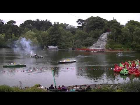 Naval Battle of Peasholm Park Scarborough 25.08.2014