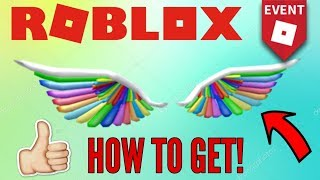 [EVENT] How to get the Rainbow Wings of Imagination! (Roblox Imagination Event 2018)