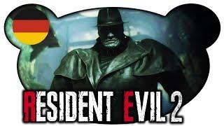 Mr. X - Resident Evil 2 Remake Leon 🇩🇪 #08 (Horror Gameplay Deutsch)