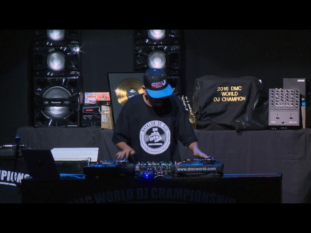 DJ Basim (Brazil)   - DMC World DJ Championships 2016