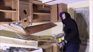DESTROYED THE ENTIRE HOUSE! Breaking everything inside of someone's house!