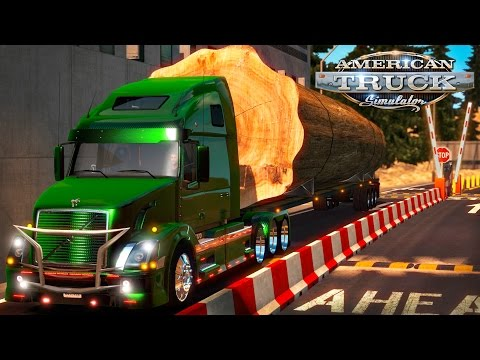 American Truck Simulator: 64 tons to Cheyenne Mountian Complex