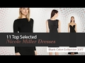 11 Top Selected Nicole Miller Dresses Black Color Collection 2017