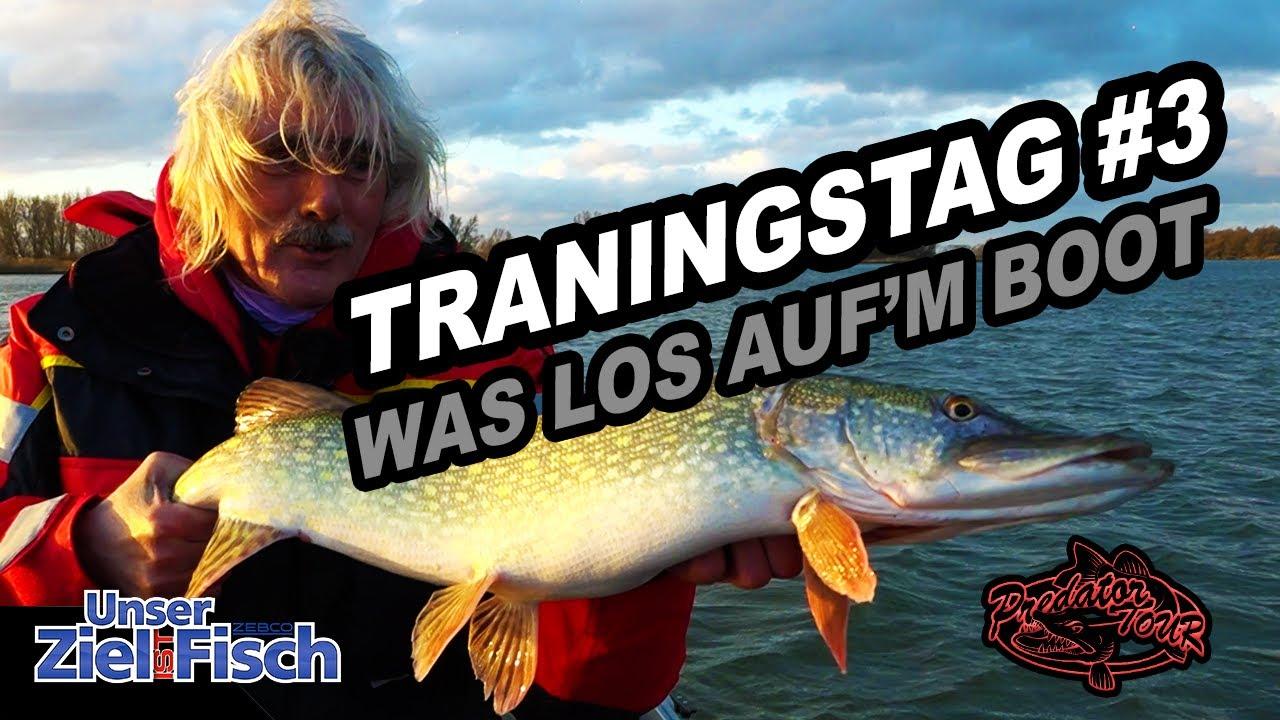 MEHR FISCH vom BOOT - TRAININGSMODUS #PREDATORTOUR 03 - Unser Ziel ist Fisch -Angelschule JÖRG OVENS