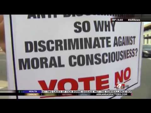AR Supreme Court Abolishes Fayetteville's LGBT Protections Feb 23, 2017