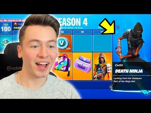NEUE SEASON 4 BATTLE PASS KAUFEN + V-BUCKS VERLOSUNG ! Fortnite