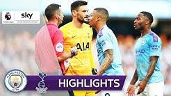 90.+2: VAR kostet City den Sieg   Manchester City - Tottenham 2:2   Highlights - Premier League