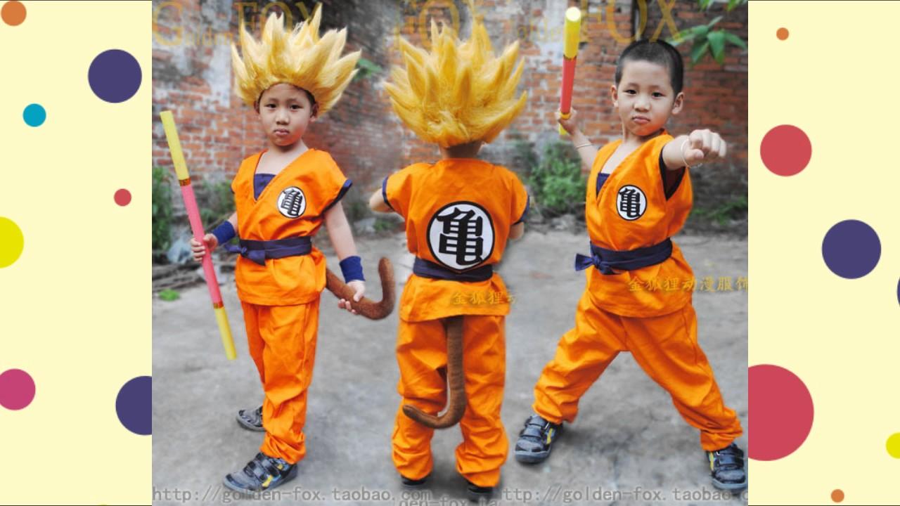 disfraces de dragon ball z para niños - YouTube deeeb250b4f7