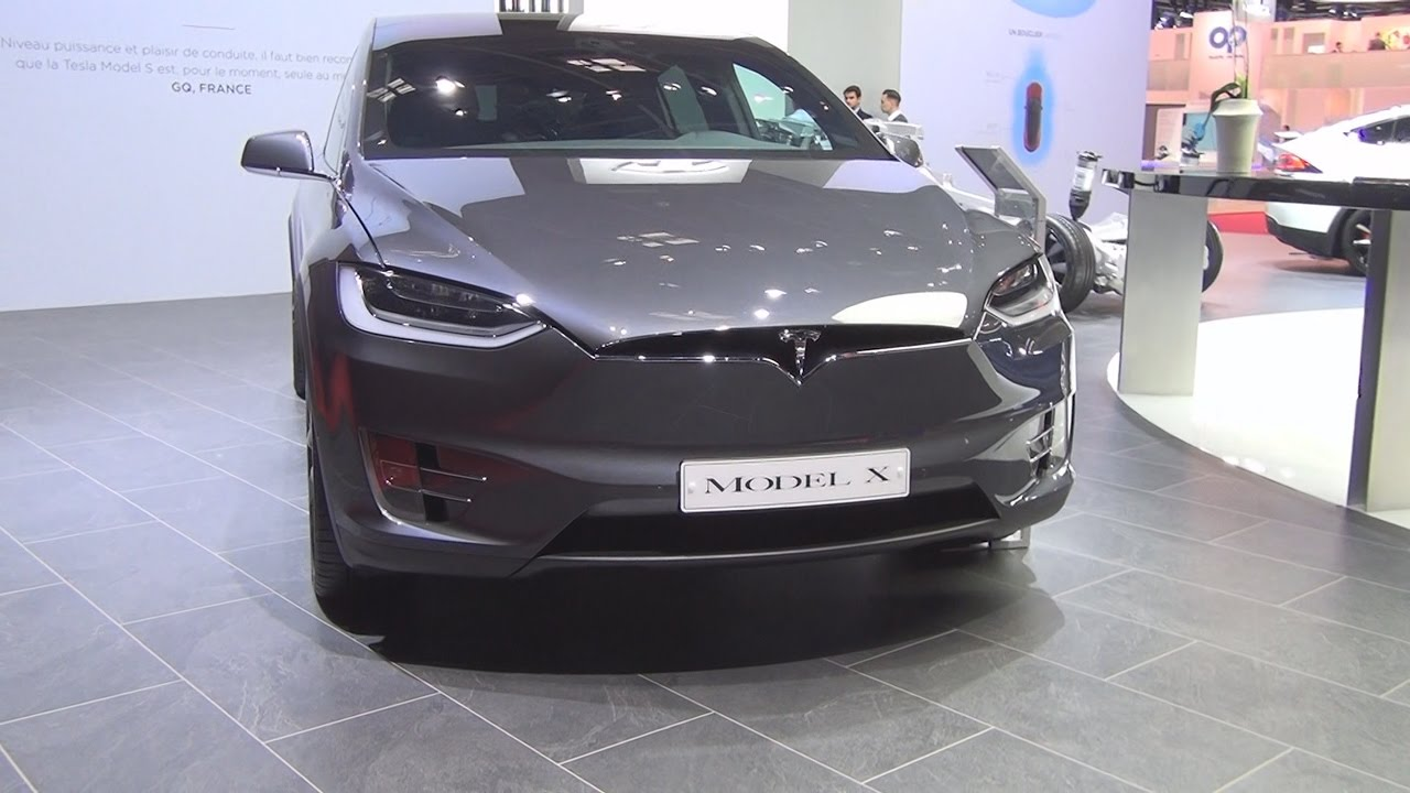 Tesla Model X 2017 Exterior And Interior In
