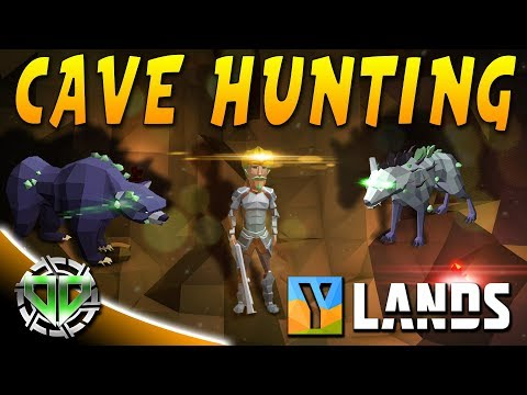 Cave Hunting, Mining Drill, And MORE : YLands Gameplay : PC Early Access Best Creations
