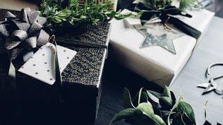 10 Quick + Beautiful Christmas Gift Wrap Ideas + a Field Trip!