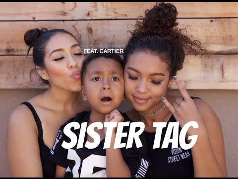 SISTER TAG + ANNOUNCEMENT!
