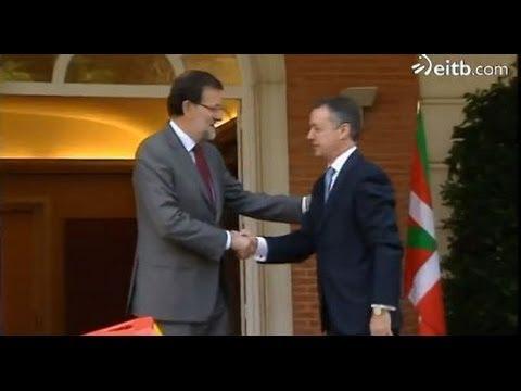 La reunión entre Urkullu y Rajoy se celebró el martes en Moncloa