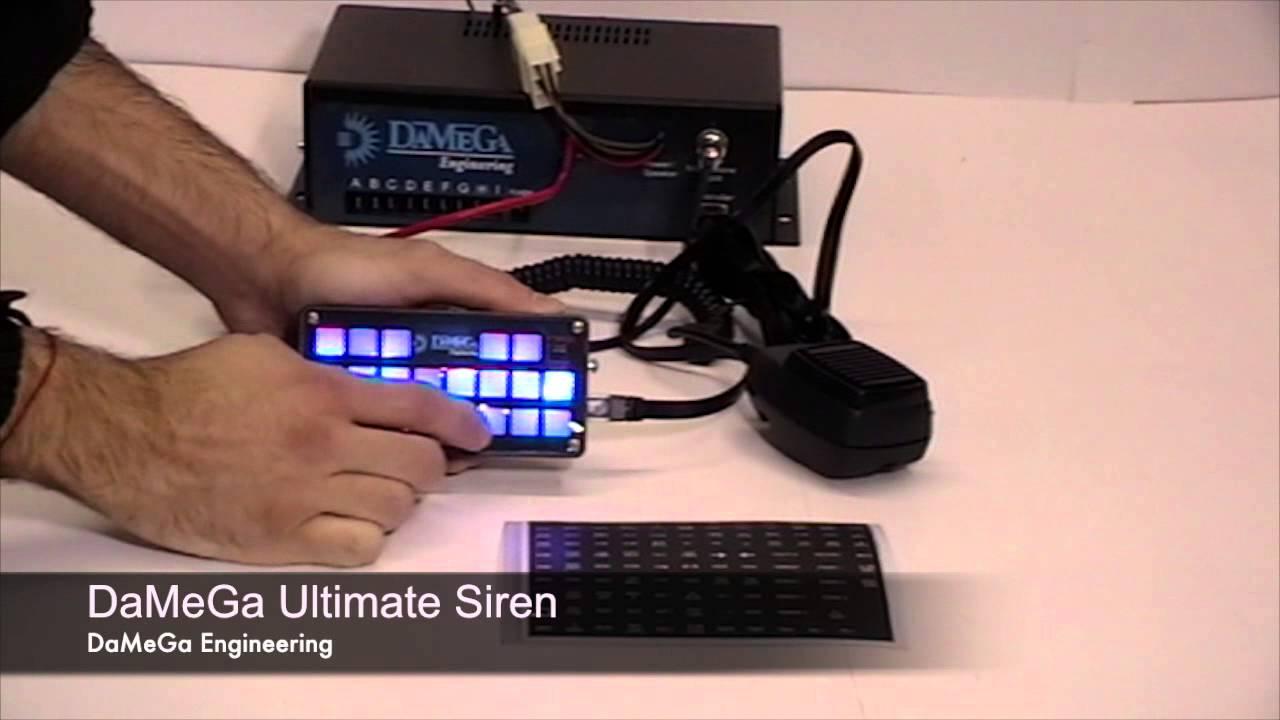 damega engineering ultimate siren [ 1280 x 720 Pixel ]