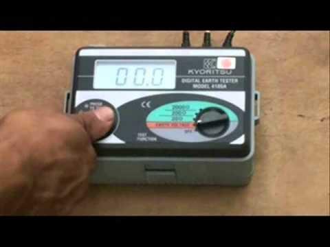 Earth Tester / Pengujian Elektrod Bumi (Elektrik Domestik Dan Industri)