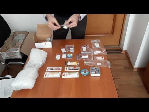 Распаковка посылки от интернет-магазина Spinningline.ru с моими первыми зимними снастями