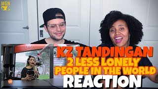 KZ Tandingan - Two Less Lonely People In The World | Kita Kita OST | REACTION