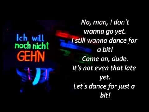 Laserkraft 3 D - Nein Mann (english lyrics)