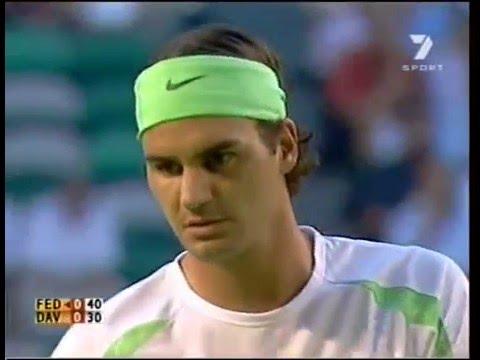 Federer Davydenko -  AO 2006 QF