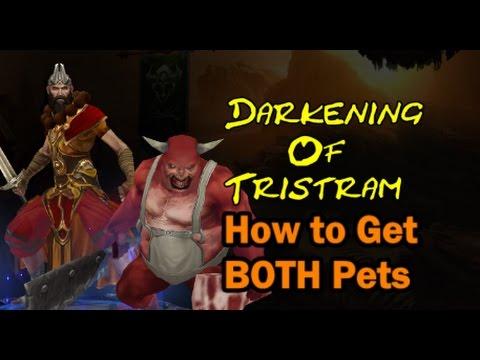 Diablo 3 season 9 How to Get BOTH pets in Darkening of Tristram