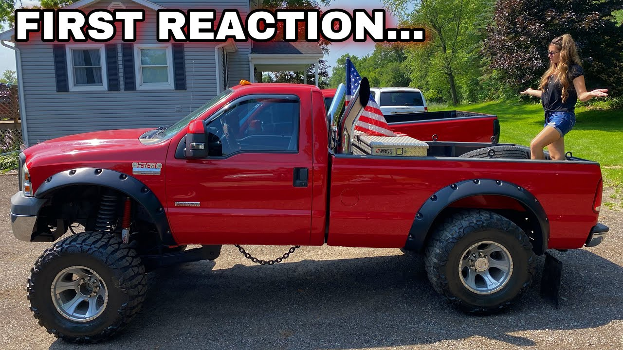 Showed Wife The Squatted Powerstroke For The First Time! THEN FIXED IT 😂