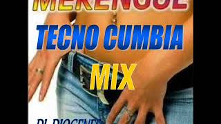 Merengue Tecno Cumbia Mix   DJ  Diogenes