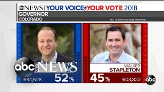 Colorado's Jared Polis on track to become 1st openly gay governor