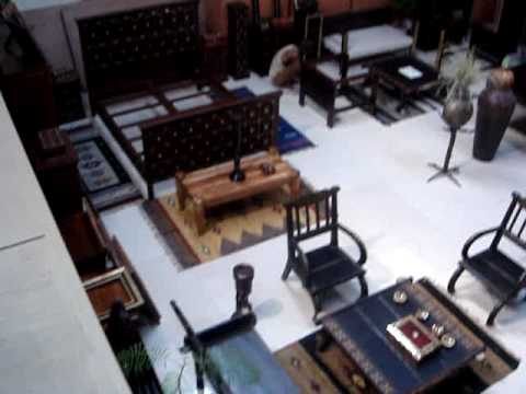 Town Art Wooden Furniture Show Room Indian Wooden Furniture and Handicraft