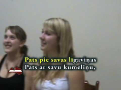 Es izjāju prūšu zemi - Latvian folk song