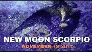 New Moon November 18 2017 ~ Silent Night by Darkstar Astrology