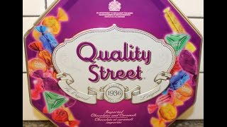 From Canada: Quality Street Chocolates & Caramels Review