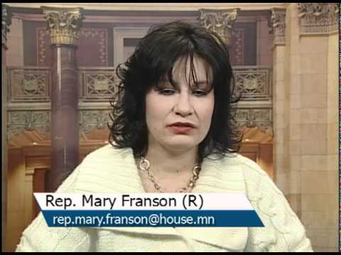 Informational interview with Rep. Mary Franson (R) 11B - YouTube