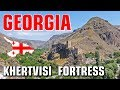 Trip to Georgia - virtual fly tour over Khertvisi fortress complex discovery from the Air