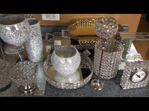 amazon home decor haul glitzy glam home decor haul home goods doovi 10342