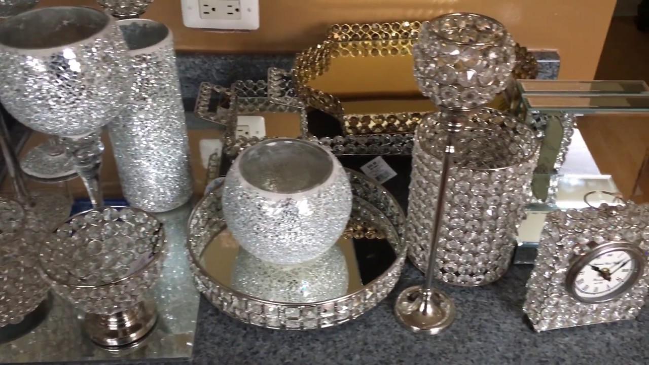 Glam Home Decor Haul |My First Haul Reloaded|*HomeGoods Burlington Amazon