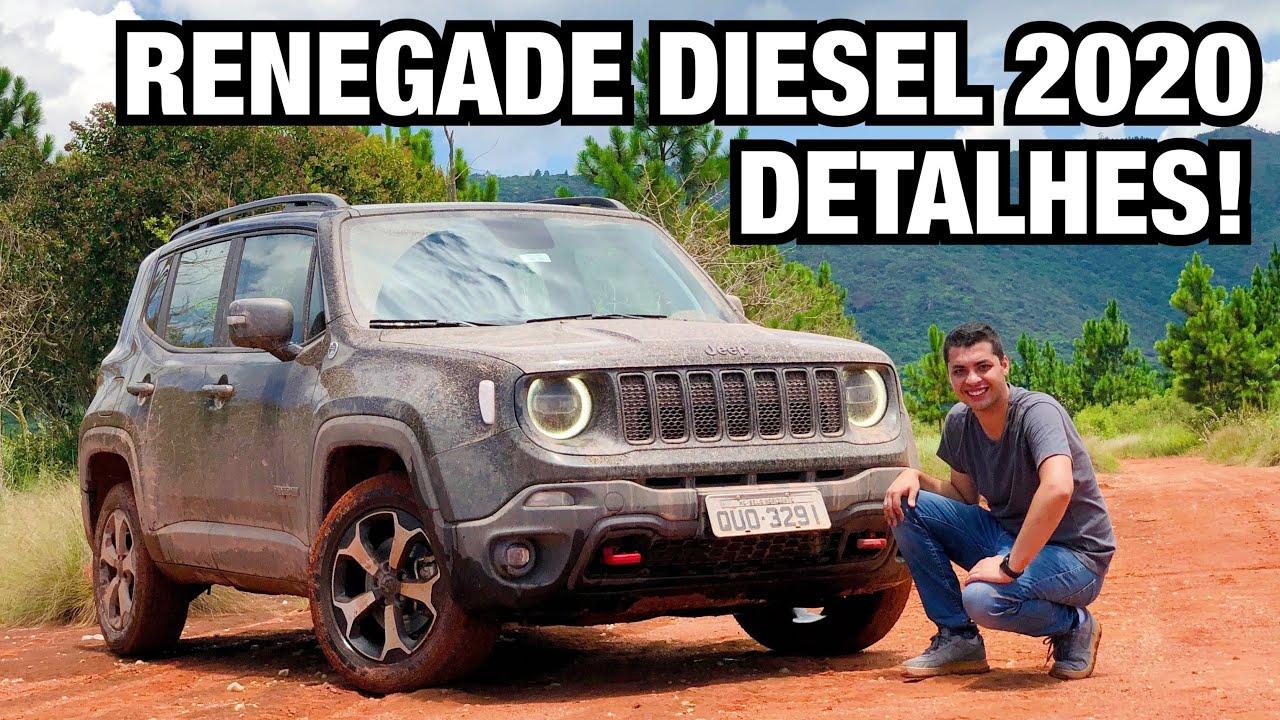 Jeep Renegade 2020 Diesel Em Detalhes Falando De Carros Youtube