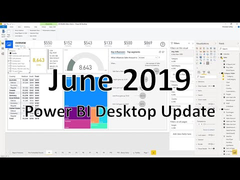 Power BI Desktop Update - June 2019