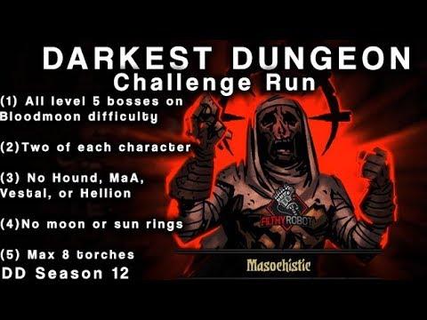Darkest Dungeon Season 12 Week 62 (LV5 Swine)
