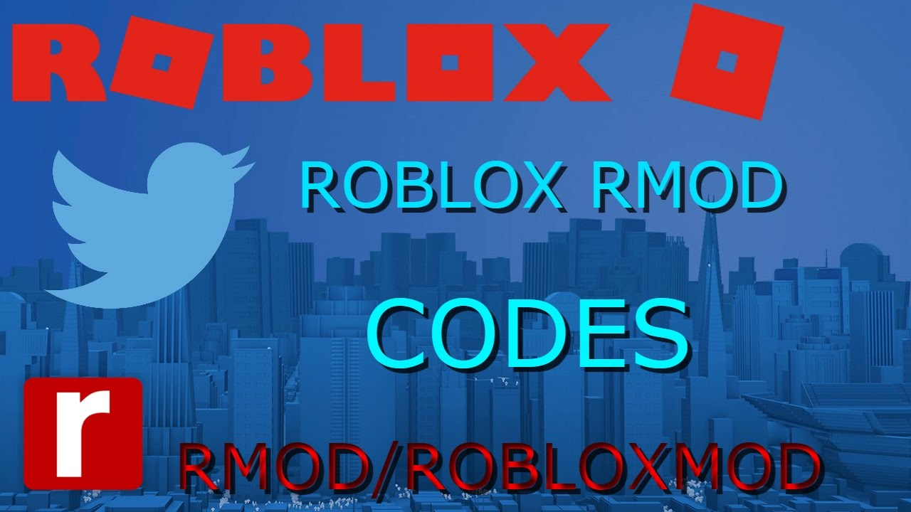 Roblox Rmod Codes Old Youtube