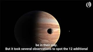 More moons discovered around Jupiter