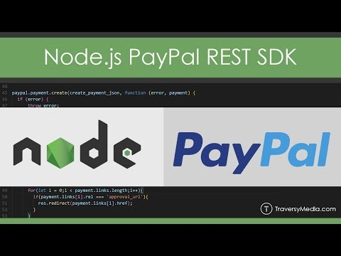 Intro To The Node.js PayPal REST SDK