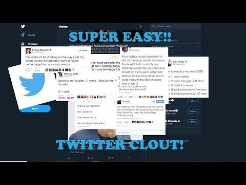 HOW TO GO VIRAL ON TWITTER!! TUTORIAL 3 EASY STEPS thumbnail